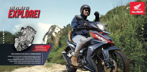 the power to explore Honda Supra GTR 150 Discover Great Feelings pertamax7.com