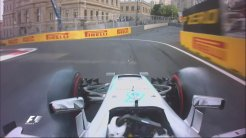 Lewis Hamilton Spins Formula 1 Baku 2016 Qualification