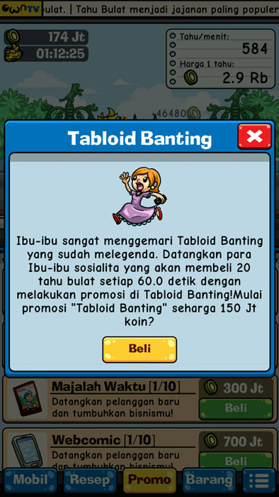 tabloid banting Game Tahu Bulat Pertamax7.com