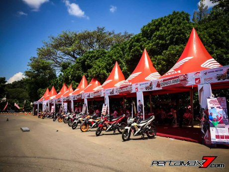 Booth di Honda Sonic Infastion 2016