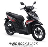 Warna All New Honda BeAT 110 eSP 2016 hitam hard rock black Pertamax7.com
