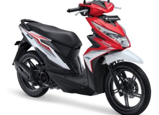 Warna All New Honda BeAT 110 eSP 2016 merah putih soul red white Pertamax7.com