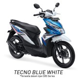 Warna All New Honda BeAT 110 eSP 2016 putih biru tecno blue white Pertamax7.com