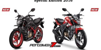 pilihan Warna All New Honda CB150R Special Edition versi 2016 Pertamax7.com
