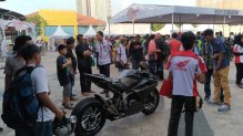 Launching Honda CBR250RR