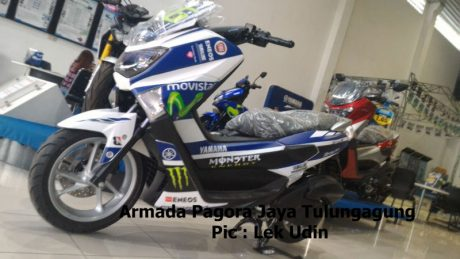 Yamaha NMAX 155 Non ABS Decal Movistar MotoGP