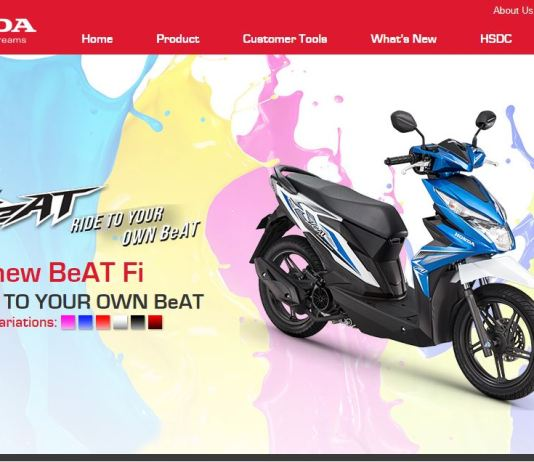 All New Honda BeAT FI Hadir di Filipina