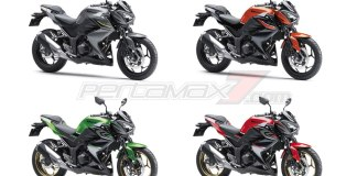 Warna Kawasaki Z250 Model year 2017 pertamax7.com