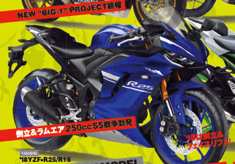 All New Yamaha R25 Facelift 2018 Young Machine