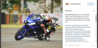 Top Speed All New Yamaha R15 Tembus 144 KM