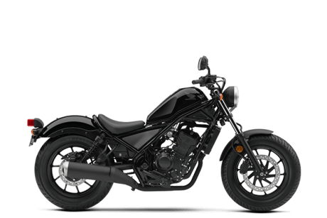 Honda Rebel 300 Hitam