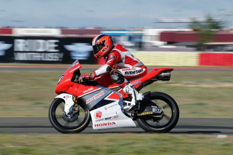 Andi Gilang 34 AHRT Moto3 Junior World Championship 4