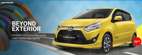 EXTERIOR All New Toyota Agya 2017