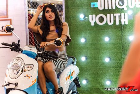 Model dalam Launching Honda All New Scoopy eSP 110 Velg 12 Inchi versi 2017