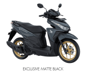 New Honda Vario 150 Warna Hitam Velg Emas Exclusive Matte Black Versi 2017