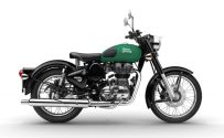 Warna Royal Enfield Redditch green