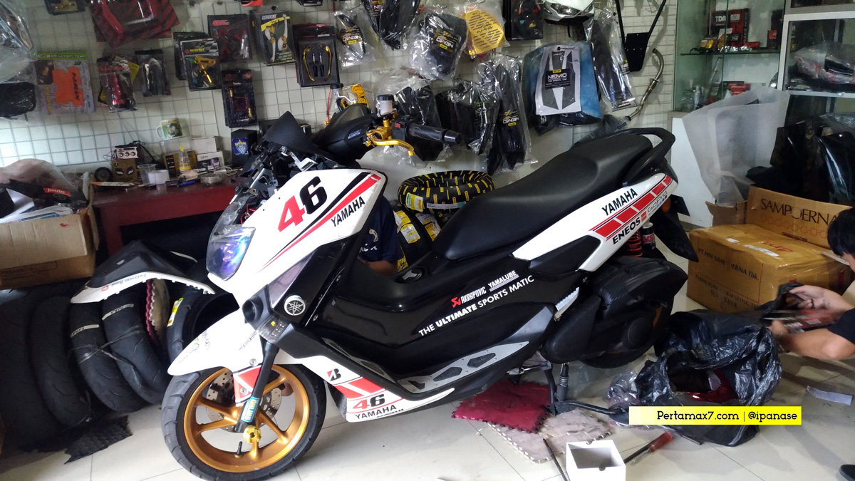 X-Workshop MAXI : Bengkel Spesialis Modifikasi Yamaha NMAX