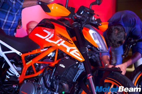 All New KTM DUKE 390 MY 2017