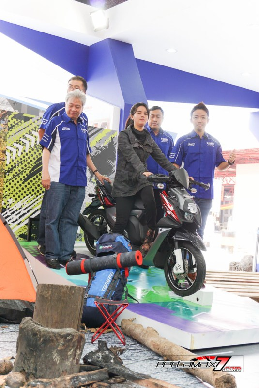 Launching Yamaha All New X-Ride 125 Jakarta Fair 2017 9