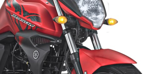 Suspensi depan Yamaha All New Byson FI Facelift 2017