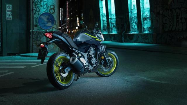Testride Yamaha MT-03 Warna Hijau Stabilo Night Fluo MY 2018 UK 7