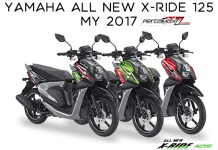 Warna Yamaha All New X-Ride 125 MY 2017