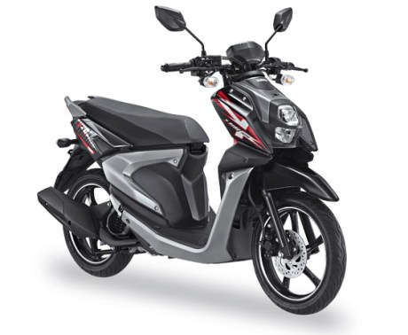 Yamaha All New X-Ride 125 Warna Hitam Tough Black