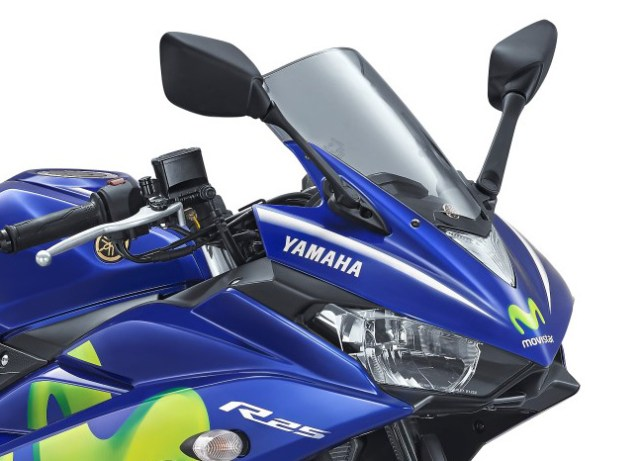 Headlamp Yamaha R25 Movistar 2017