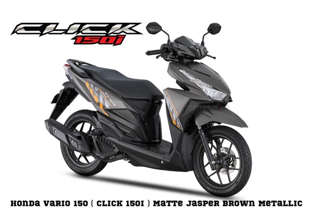 Honda Click 1509 Matte Jasper Brown Metallic