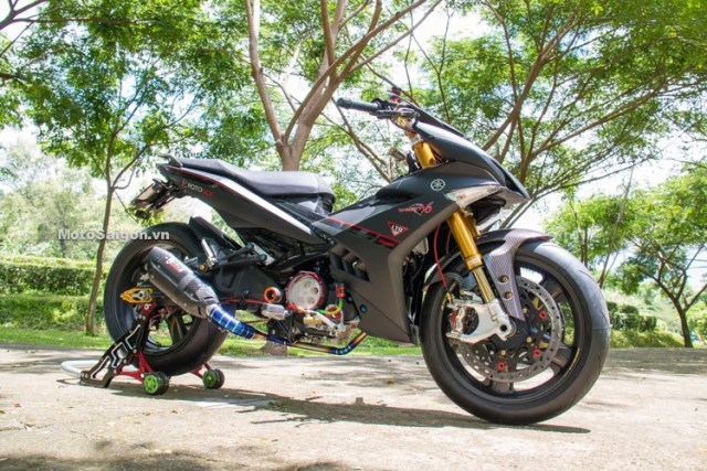 Modifikasi Yamaha Jupiter MX KING 150 Velg Rotobox Moge 17
