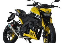 Modifikasi Yamaha XABRE Kuning 60th Anniversary Yellow