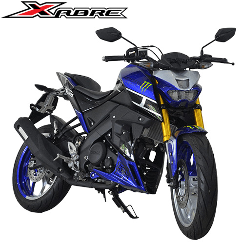 Modifikasi Yamaha Xabre Monster Biru