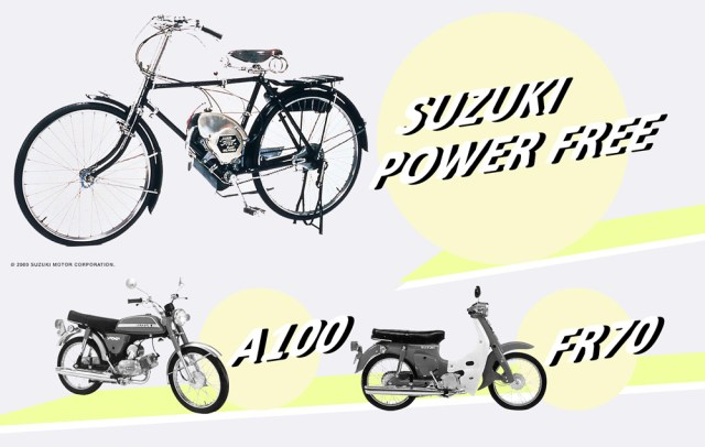 Suzuki Indonesia Motorcycle History Power Free A100 FR70