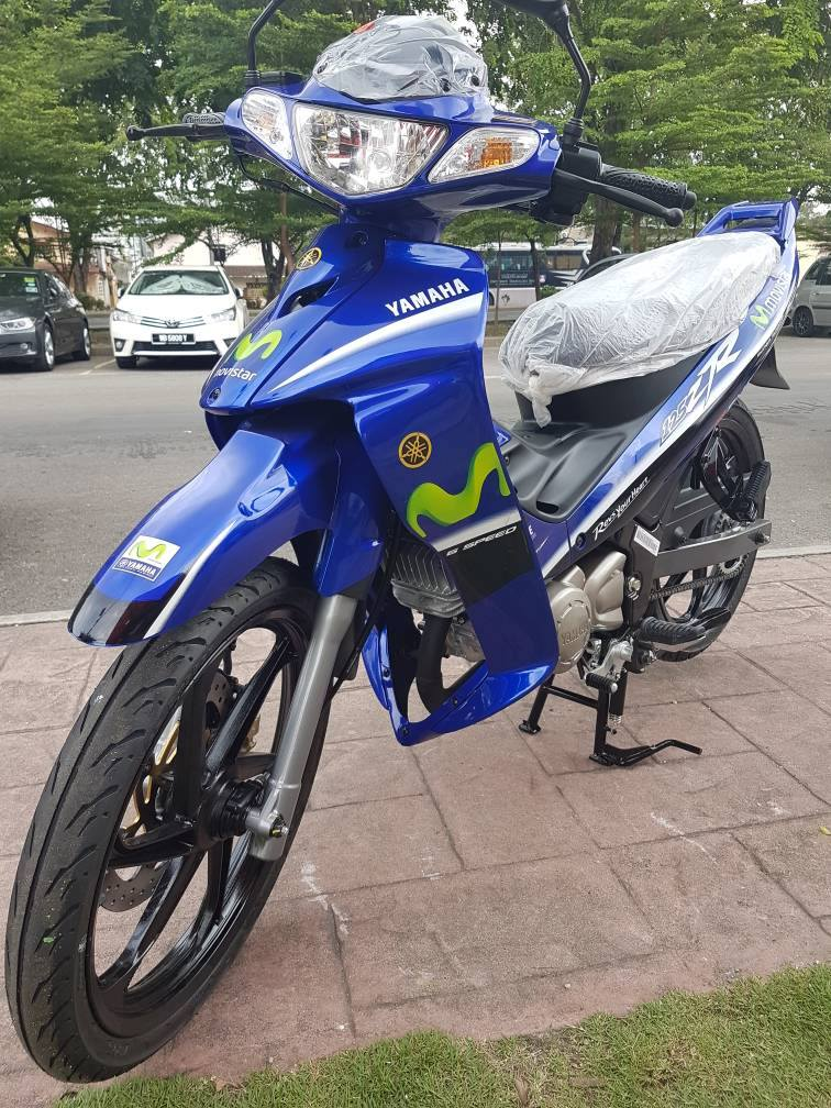 galeri foto yamaha 125zr movistar special edition limited
