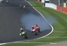 Marc Marquez Blow UP Engine Ngebul di MotoGP Silverstone 2017