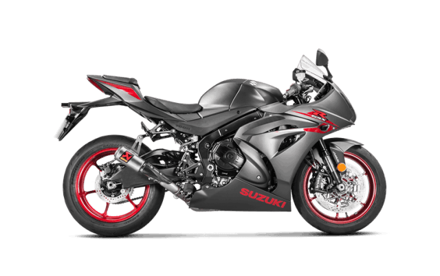 Suzuki GSX-R 1000 2017 Slip-On Line (Titanium) S-S10SO13-CUBT