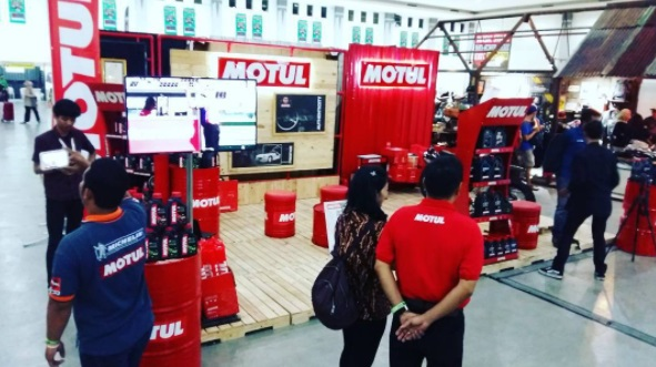 Motul Kustomfest Booth 2017