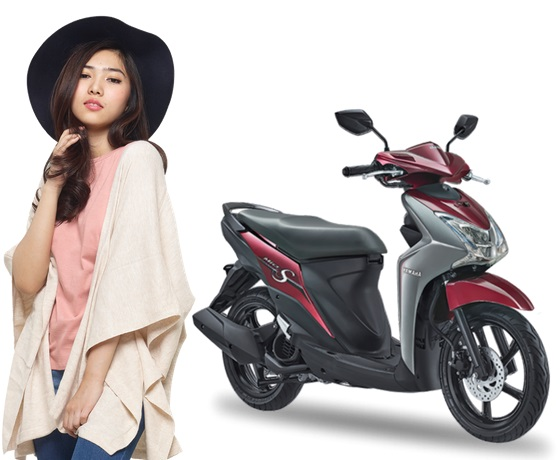 Yamaha Mio S Warna Merah Spirit Red