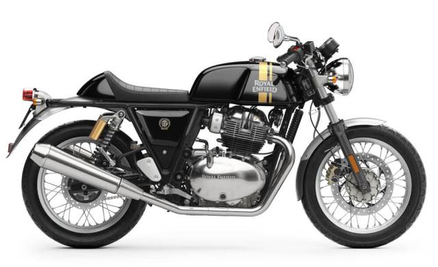 Royal Enfield Continental GT 650 Hitam Black Magic