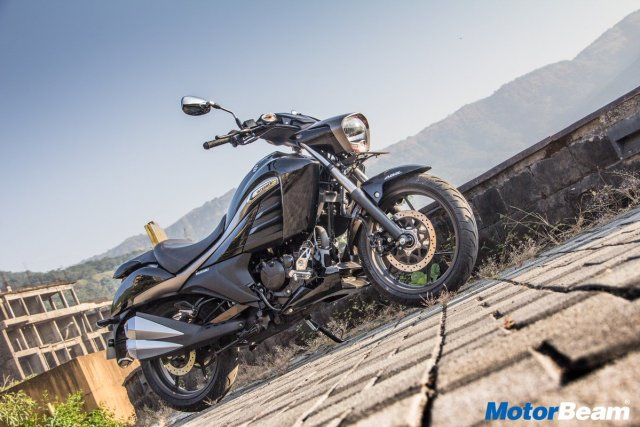Testride Suzuki Intruder 150 India 3 p7