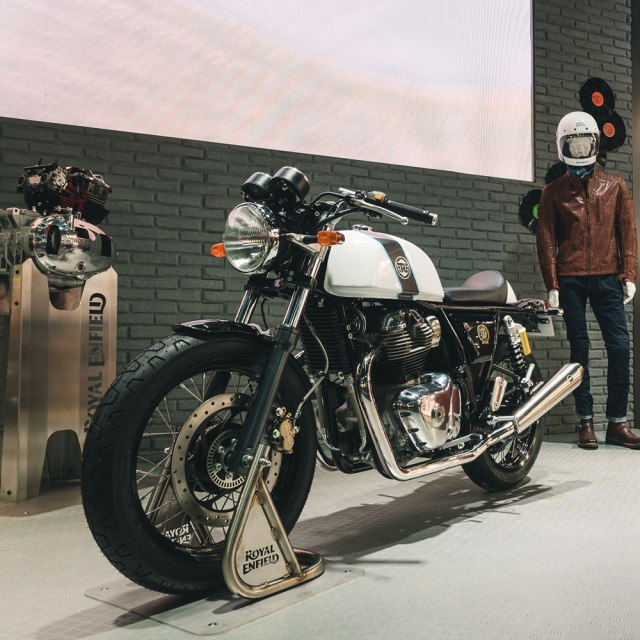 launching Royal Enfield Continental GT 650 TWIN EICMA 2017