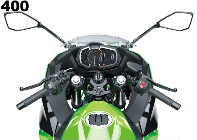 Stang Kawasaki Ninja 400 dan All new Ninja 250 FI Uppper Yoke