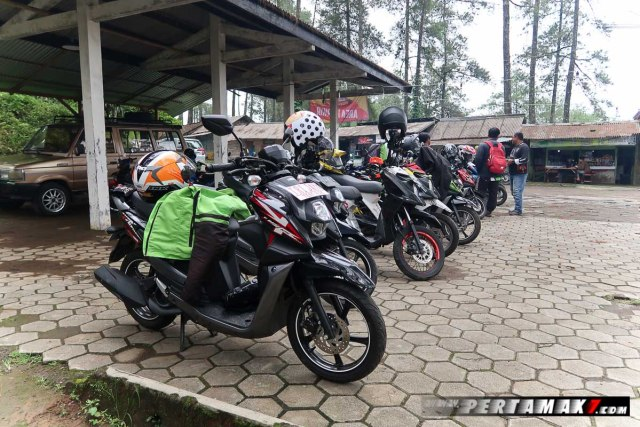 Yamaha All New X-Ride 125 Rider Camp di Air Terjun Irenggolo Kediri 2 p7