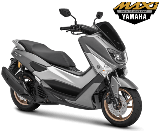 Yamaha NMAX Non ABS STD Model 2018 Warna Abu Abu Doff