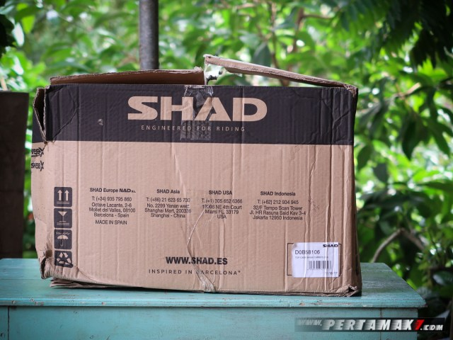 SHAD SH58X Expandable Indonesia