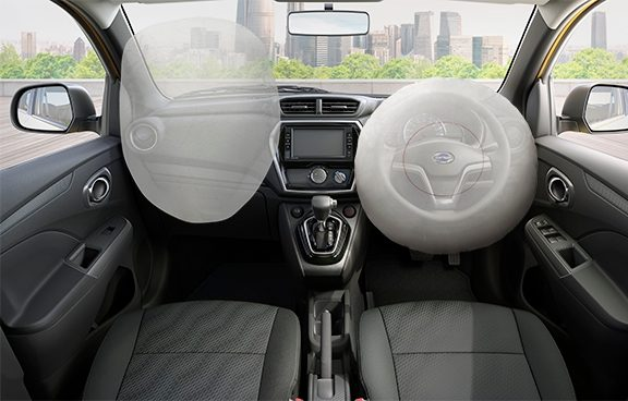 Dual Airbags Datsun CROSS Indonesia