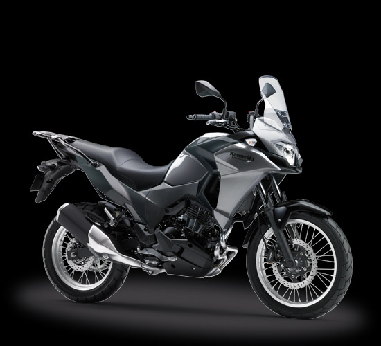 Kawasaki versys-X 250 City Version warna abu abu