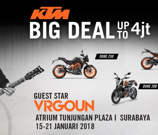 Virgoun KTM Bike Week Surabaya