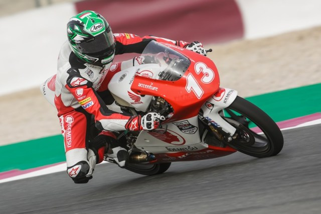Lucky Hendriansyah 13 Race 1 Asia Talent Cup Qatar 2018