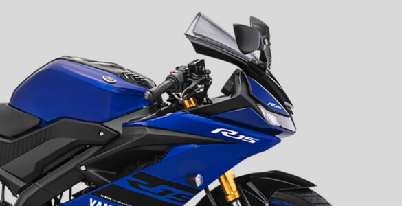 Uspide Down Gold All New Yamaha R15